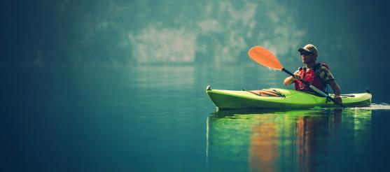 Kayak Water Sports Banner