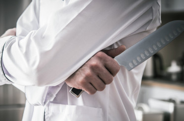 Kitchen Chef with Knife