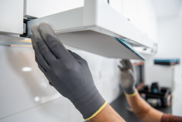 Kitchen Exhaust Fan Filter Replacement