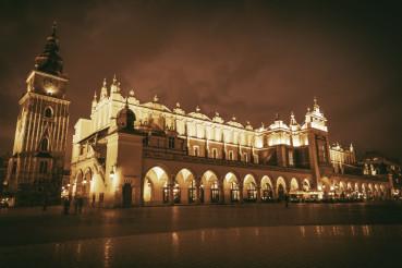 Krakow Main Square Poland