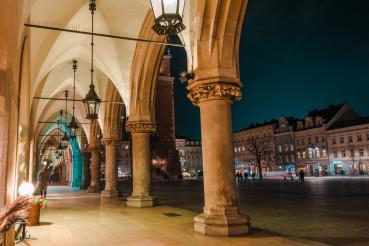 Krakow Sukiennice Place