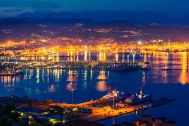 La Spezia at Night