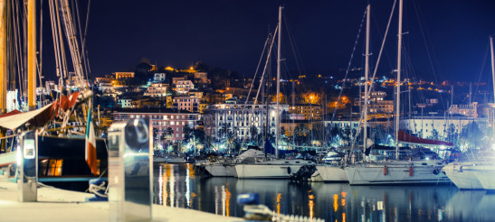 La Spezia Marina at Night