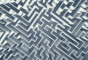 Labyrinth 3D Background