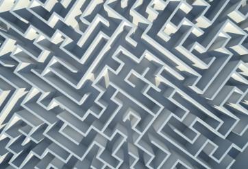 Labyrinth 3D Background