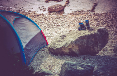 Lake Camping Scenery
