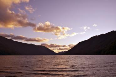Lake Crescent Sunset