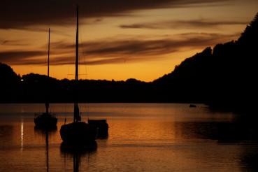 Lake Marina Sunset