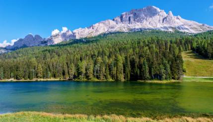 Lake Misurina Italian Dolomites