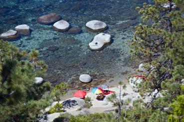 Lake Tahoe Beach Relax