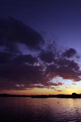 Scenic Colorado Lake Sunset