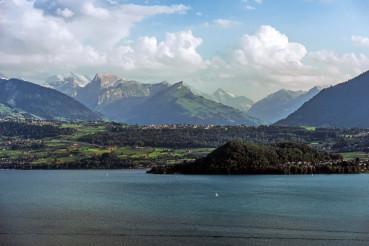 Lake Thun in Switzerland