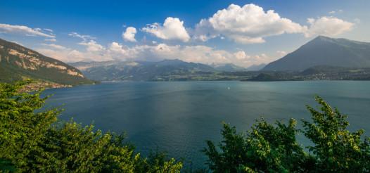 Lake Thun Interlaken Panorama