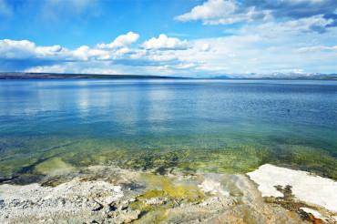 Lake Yellowstone Scenery