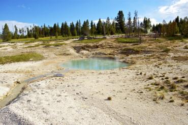 Lakeside Springs Yellowstone
