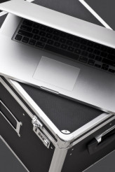 Laptop on Case
