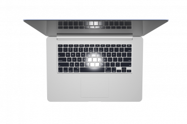 Laptop Top View