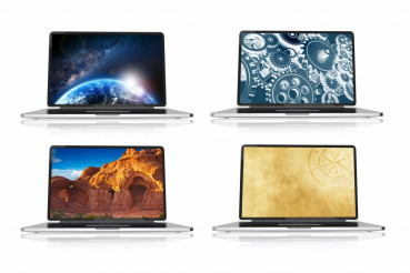 Laptops and Wallpapers