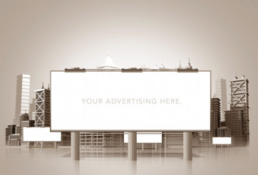 Large Urban Billboard