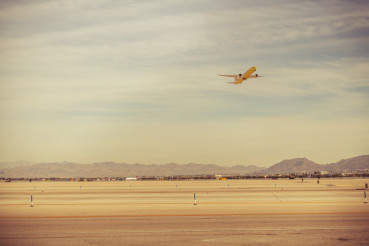Las Vegas Airport Take Off