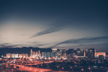 Las Vegas Dusk Light