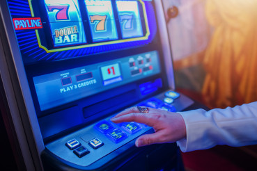 Las Vegas Slot Machine Player