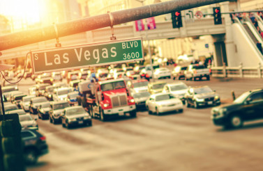 Las Vegas Strip Traffic