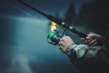 Late Fly Fishing Angler