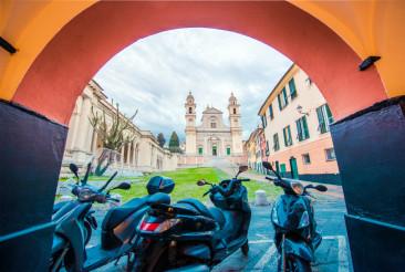 Lavagna Basilica Italy