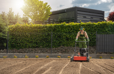 Lawn Aeration and Preparing For Grass Seeding