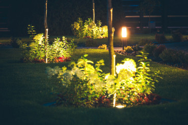 Lawn Spotlight Illumination