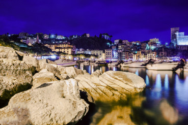 Lerici Marina at Night