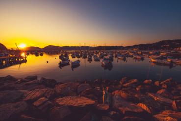Lerici Marina Scenic Sunset