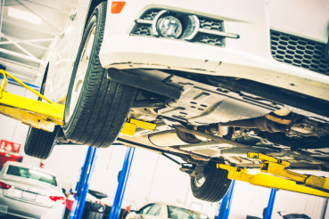 Lifted Car Maintenance