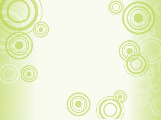 Light Circles Green Vector Background