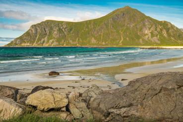 Lofoten Archipelago Mountain Range and the Coast