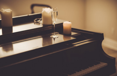 Lonely Evening with Piano