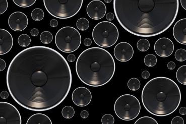 Loud Speakers Background