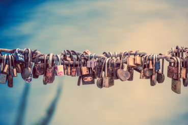 Love Lock Closeup