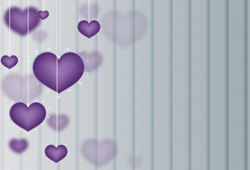 Lovely Hearts Background