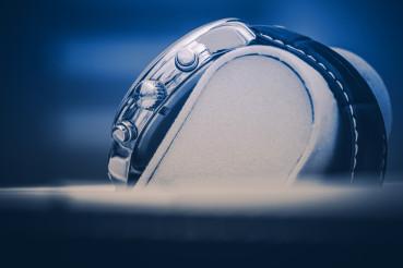 Luxury Hand Watch Displayed in Elegant Box