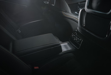 Luxury Leather Modern Vehicle Interior