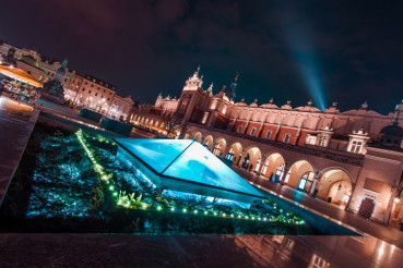 Magnificent Krakow at Night