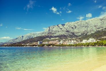 Makarska Croatia Cityscape