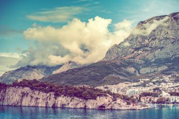 Makarska Shoreline Croatia
