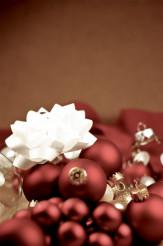 Maroon Ornaments