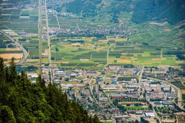 Martigny in Canton Valais