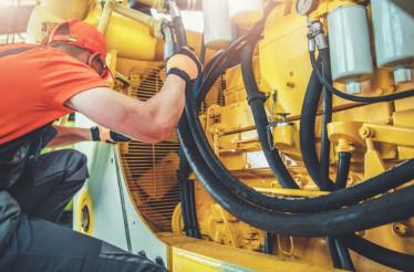 Mechanic Repair Bulldozer