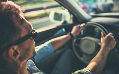 Men Behind the Steering Wheel