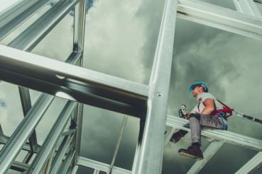 Men Building Skeleton Steel